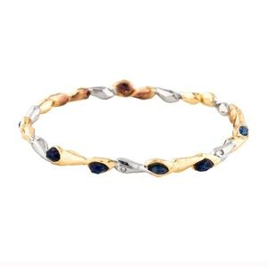 Alexis Bittar Resin and Crystal Bangle Bracelet